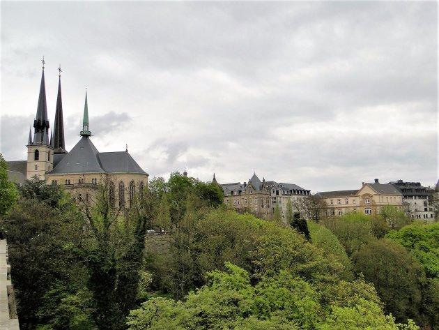 Kathedraal van Luxemburg.