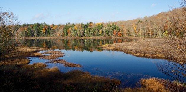Bezoek New England in de herfst