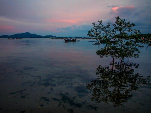 Stilte op Koh Mook