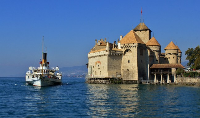 Radarboot Chateau Chillon