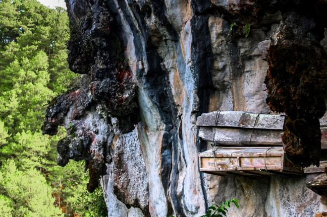 De hangende doodskisten van Sagada