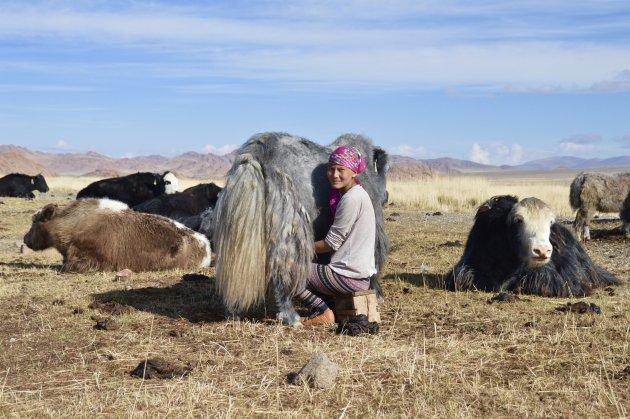 slapen bij nomaden