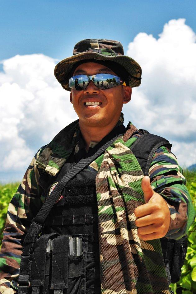 Safe on Sibuan Island