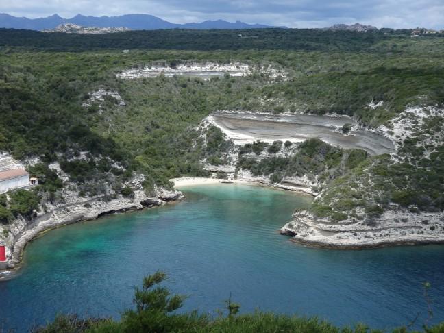 Haventje bij Bonifacio