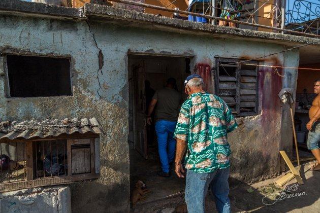 Cubaanse Hanen fokker.