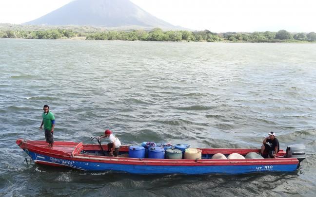 Boot naar Ometepe