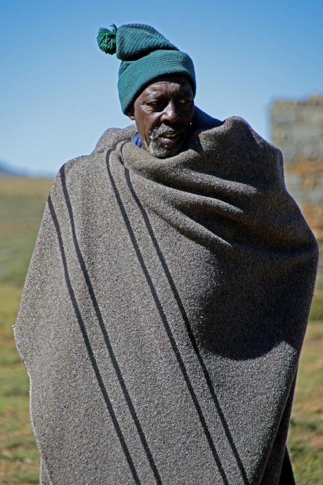 Bibberen in Afrika