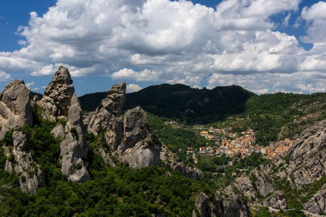 Italiaanse bergdorpjes