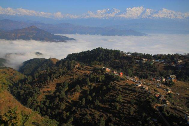 Panorama boven Bandipur