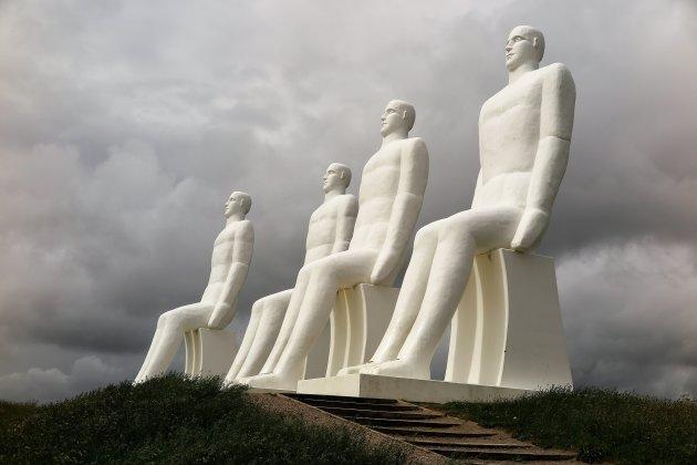 De vier witte mannen