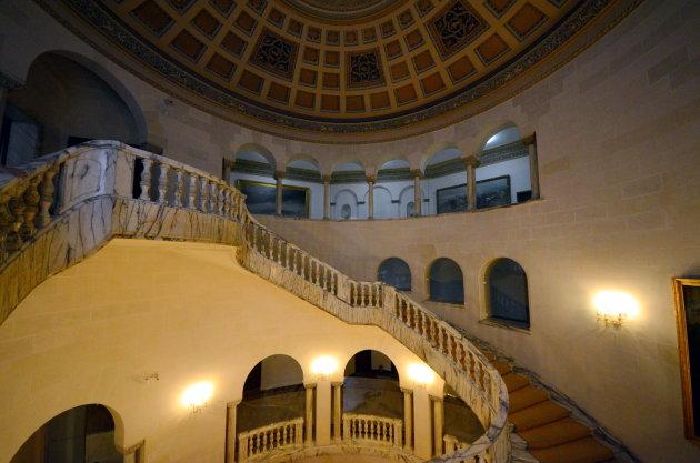 Het voormalige paleis van Boekarest