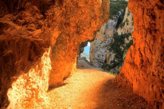 Spannende Passage Mont Rebei