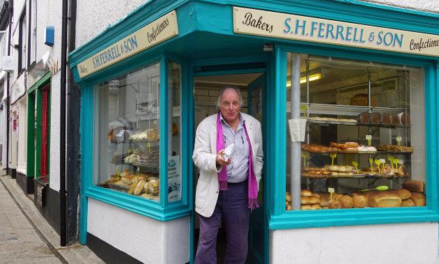 Lekkere broodjes uit de Corniche in St Ives