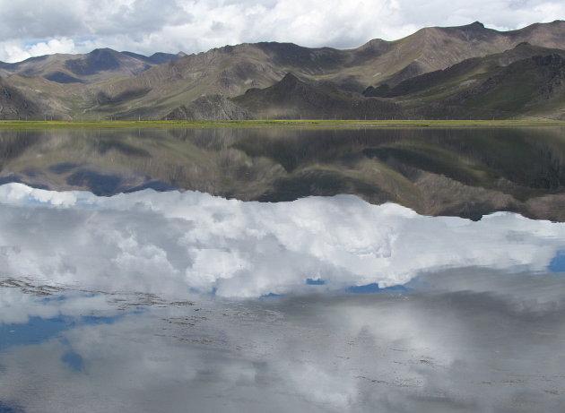 luchtig spiegelbeeld