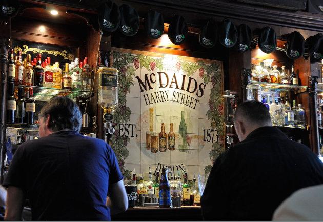 Pak een pint in Mc Daids