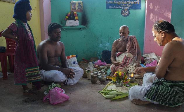 Morning Puja