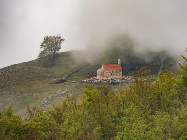 Kapelletje in de wolken