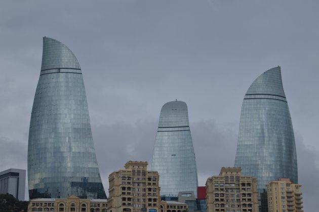 Bakoe skyline