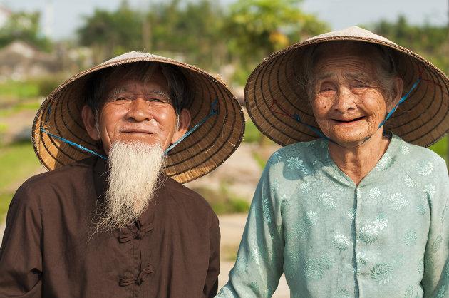 fotogeniek oud echtpaar