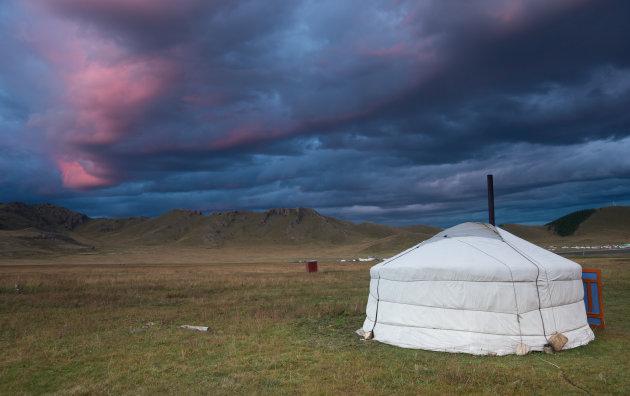 Overnachten in Mongolië