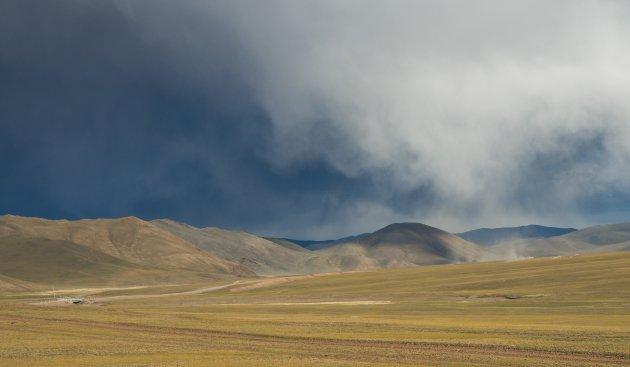 Weidse landschappen in Mongolië
