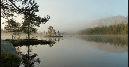 Dierbaar plekje aan het Tärnättvattnet