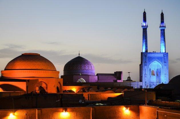 Sprookjesachtig Masjid-e-Jameh