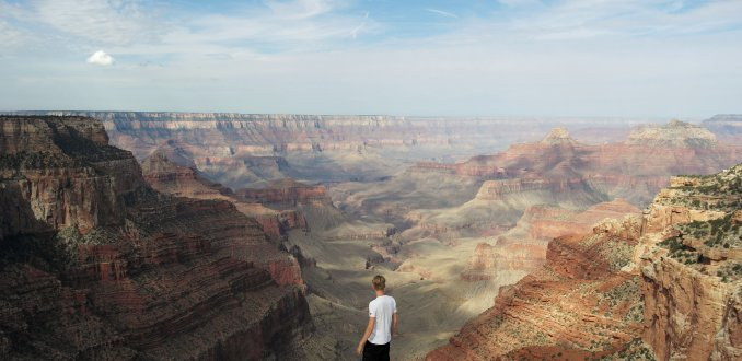 Living on the edge, Grand Canyon North Rim