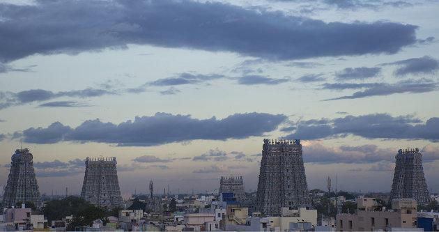 Blue hour in Madurai