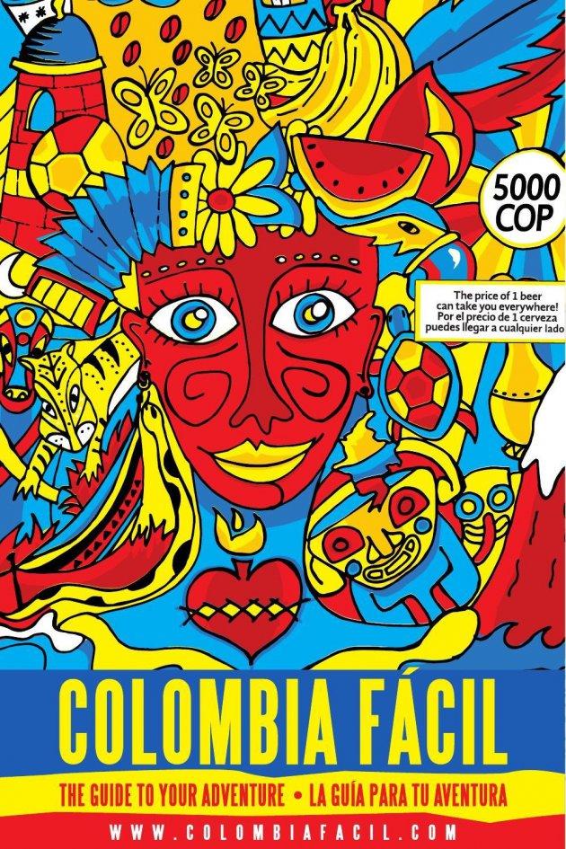 Colombia Facil,de reisgids voor Colombia.
