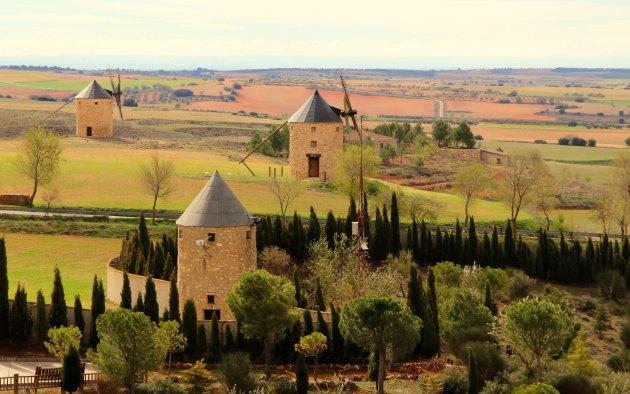 landschap route de Don Quichote