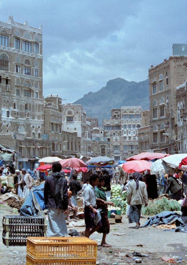 Straatbeeld Sanaa