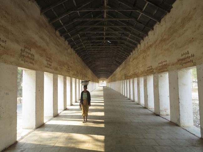 Bagan, intree naar tempel