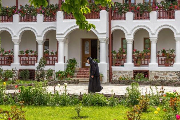 Non in een klooster