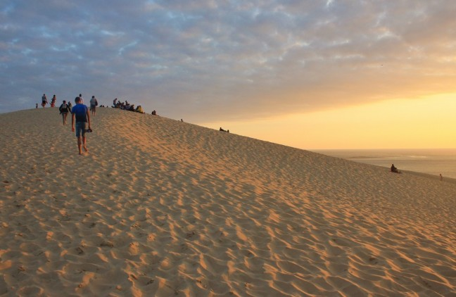 Dune de Pilat zonsondergang