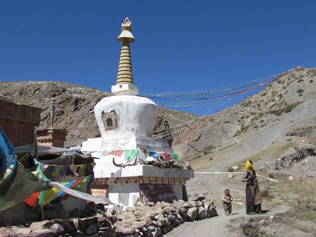 Stupa bij Kailash