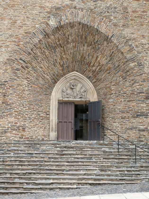 Kerkingang versiering op een heel andere manier