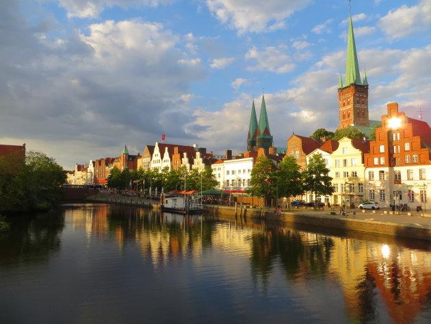 Lubeck in Noord Duitsland