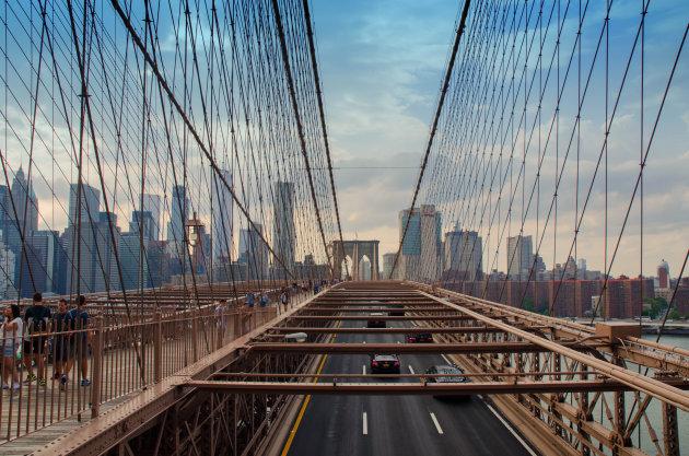 Brooklyn Bridge By Bike