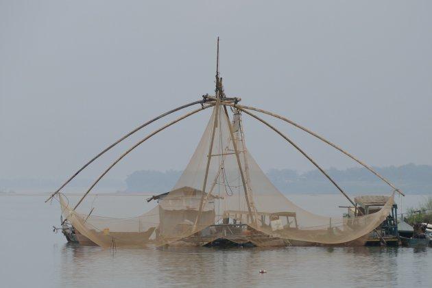 Vissen op de Mekong