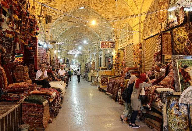 De bazaar van Shiraz