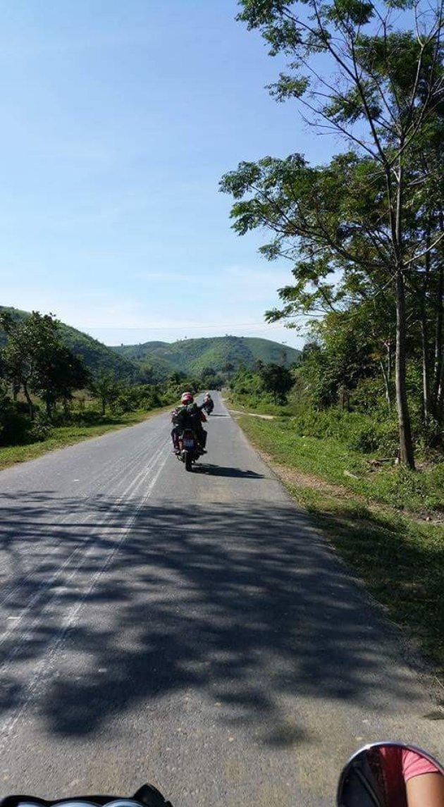 Hit the road offtrack Vietnam