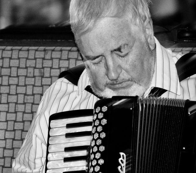 Traditionele Ierse muzikant