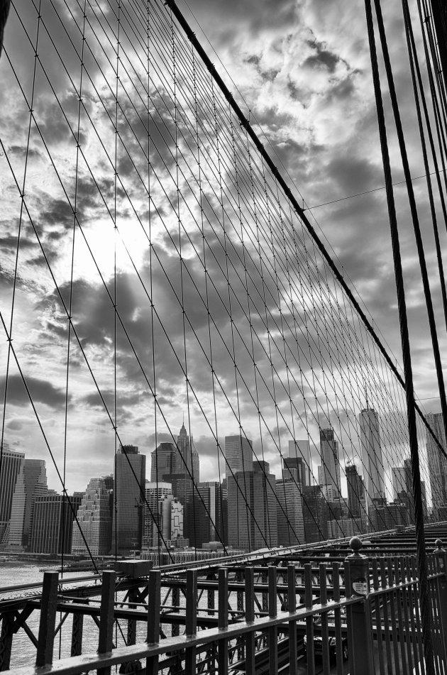 Iconische Brooklyn Bridge