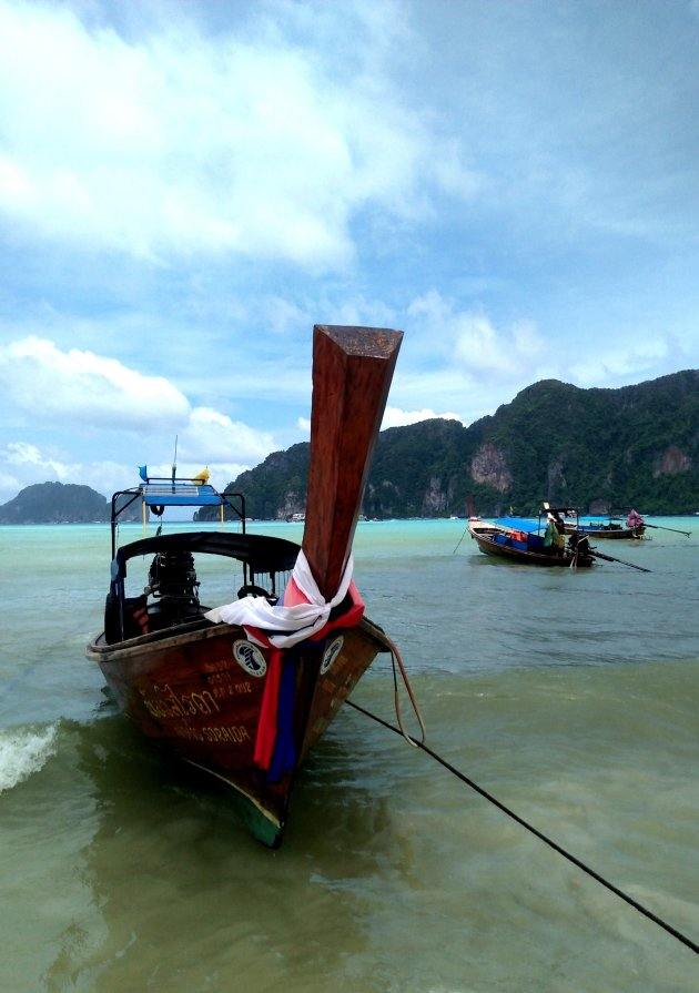 De pracht van Ton Sai haven