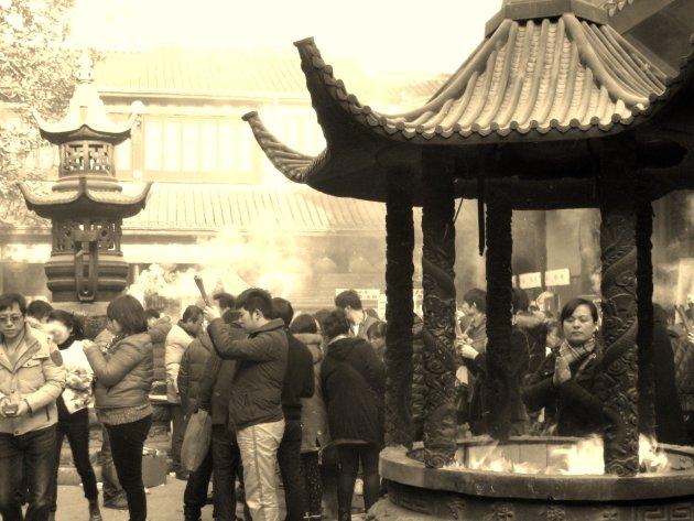 Tempelbezoek op 1 januari