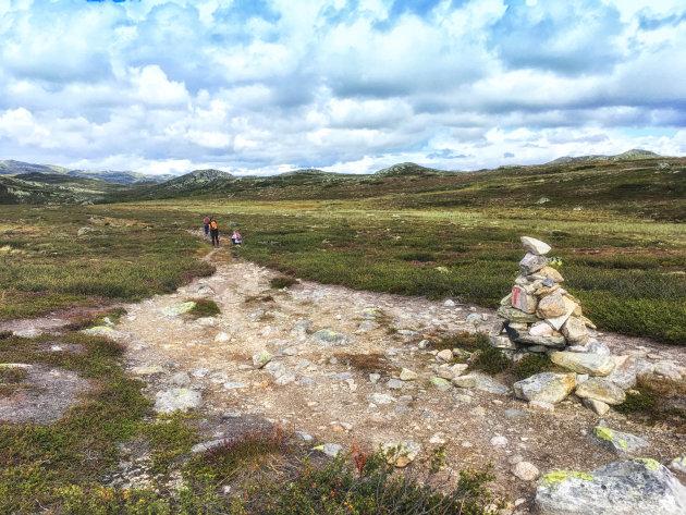 Wandelen op de Hardangervidda
