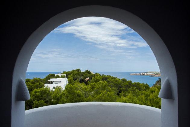 Zeezicht in Ibiza