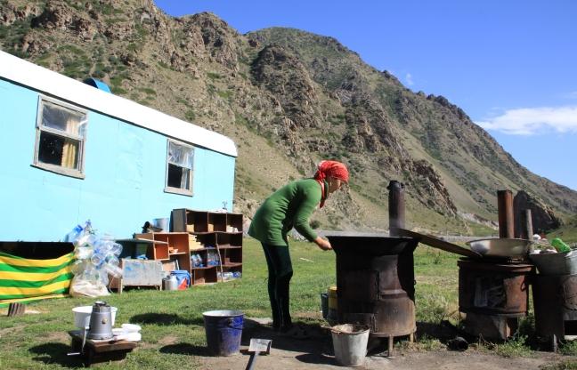 Op visite bij nomaden