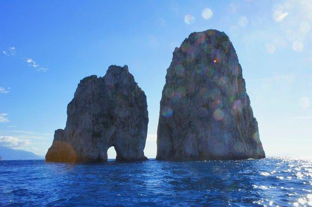 Eeuwige liefde in Capri